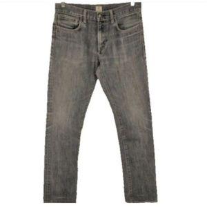 J. Crew Jeans 484 Slim Fit Gray Black Distressed